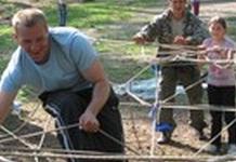 Веревочный тренинг (тимбилдинг)